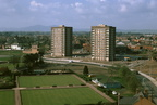 Tybridge Street flats; view from power station; 30th April 1969 (J0810281E54)