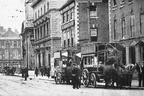 The Cross; horse buses; c1908; date tbc (J0811233E31)