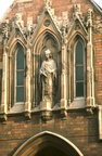 Statute above entrance to St Oswald's almshouses, Date tbc (J0903025E14)