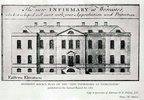 "Plan for the ""New"" Worcester Infirmary; 1767 (J0903121E31)"