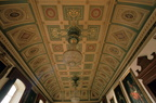 Guildhall Assembly Room ceiling; view to south 1982 (J0904031E79)