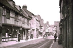 Friar Street; view from south Tudor coffee house left hand; c. 1900; date tbc (J0905121E05)