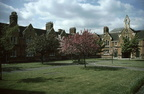 St Oswald's almshouses South and West sides; May 1984;  (J0905211E70)
