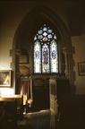 Interior of Chapel, St Oswald's almshouses; 12th April 1971 (0905301E62)