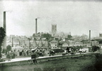 Bath Road and porcelain Factory, view from Woolhope Road ; c.1890 (0905301E66)