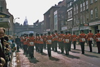 Worcester and Sherwood Forresters Regiment – marching through Worcester (Foregate Street); date tbc (J1112081E27.jpg)