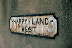 Happyland West – Road sign; 25th January 1997 (J1201071E31.jpg)