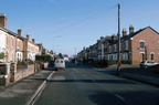 Bromyard Road: View to East (old post card); 25th January 1997 (J1201071E71.jpg)