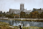 Riverside – Showing Cathedral from South West (old post card) c.1906 (J1207301E12.jpg)