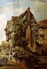 St Johns Manor House (old painting); Date tbc (J1208011E02.jpg)