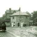 Junction of Ombersley and Droitwich Roads (old post card); c.1910 (J1208011E10.jpg)