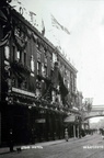 Star Hotel, Foregate Street – view from South. Flags (?celebrations for coronation of George V); c.1910 (J1208061E26.jpg)