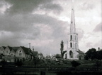 St Andrew's Church and Spire from West; c.1930 (J1208061E81.jpg)