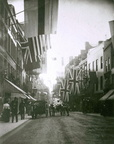High Street – looking North from near Westby's Shop (Worcester Festival); 10th September 1899 (J1208062E10.jpg)