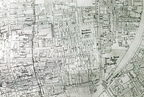 Detail of Map of Worcester; Charles Street and Iron and Brass Foundry; c1890 (J1302081E27.jpg)