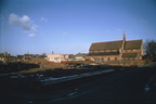 St Paul's Church and clearance of Providence Street – view from South corner of King William Street; 24th January 1971 (J1303011E27.jpg)