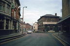St Nicholas Street and Queen Street: Corner from West: Gardner's Bakery; 11th October 1970 (J1303011E42.jpg)