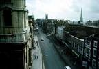 The Cross – View to South East from above corner of Foregate Street/St Nicholas Street; 3rd August 1977 (J1303291E47.jpg)