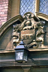 Coat of Arms on Laslett's Almshouses; 11th April 1971 (J1304051E02.jpg)