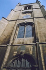 St Swithins Church Tower from West Side; 11th April 1971 (J1304131E27.jpg)