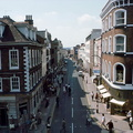 Broad Street junction: East End – junction of St Swithin's Street and The Cross; 10th August 1977  (J1304131E41.jpg)