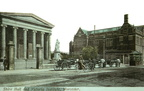 Shire Hall and Victoria Institute, Foregate Street with horse drawn carriages; c.1910 (J1308261E31.jpg)