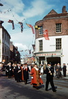 Three Choirs Festival Civic Procession, High Street/Lich Street; September 1960; ALJ-0055